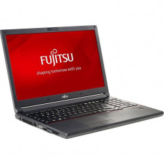 Laptop Fujitsu Lifebook E554 15.6 inch HD Intel i5-4210M 8GB DDR3 500GB+8GB SSHD Black - Laptop Fujitsu-Siemens
