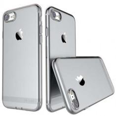 Husa iPhone 7 Flexibila USAMS Series Neagra - Sticker Telefon