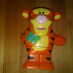 Mega Block, Tigger muzical, Winnie the Pooh, 18 x 13 x 5 cm - Masinuta de jucarie Disney
